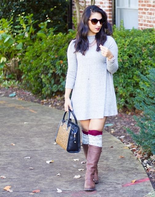 Grey-Sweater-Dress-High-Socks (5 of 12)