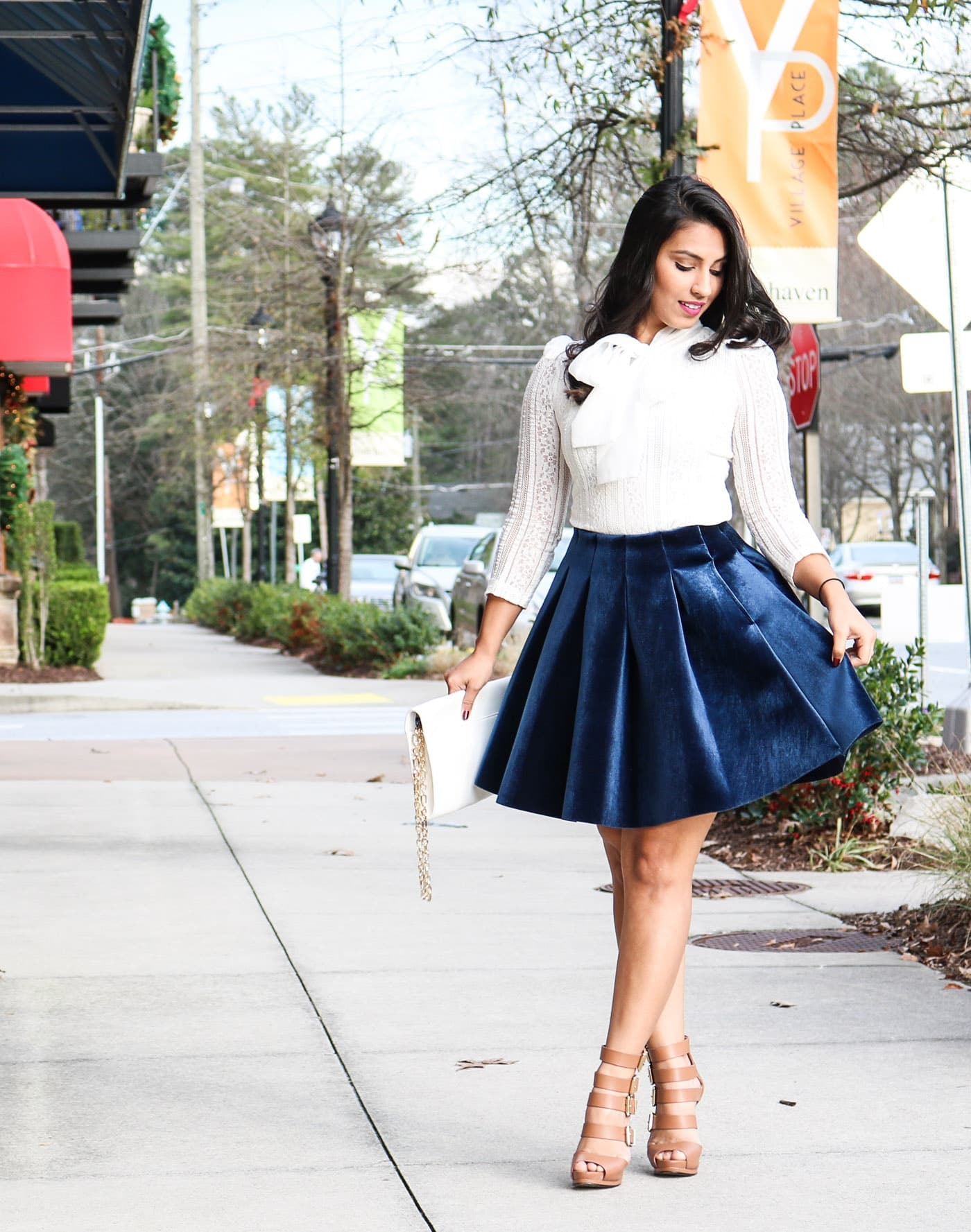 WINTER DATE NIGHT OUTFIT | Simply Sabrina