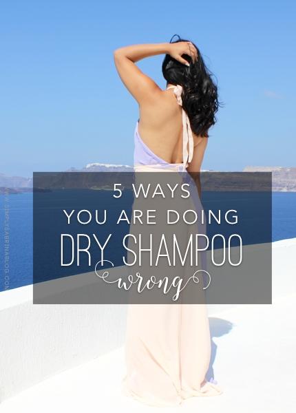 dry shampoo tricks, dry shampoo tips, dry shampoo mistakes, dry shampoo