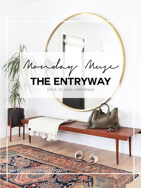 MONDAY MUSE: ENTRYWAY DETAILS