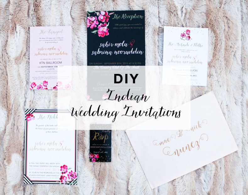 DIY: WEDDING INVITATIONS