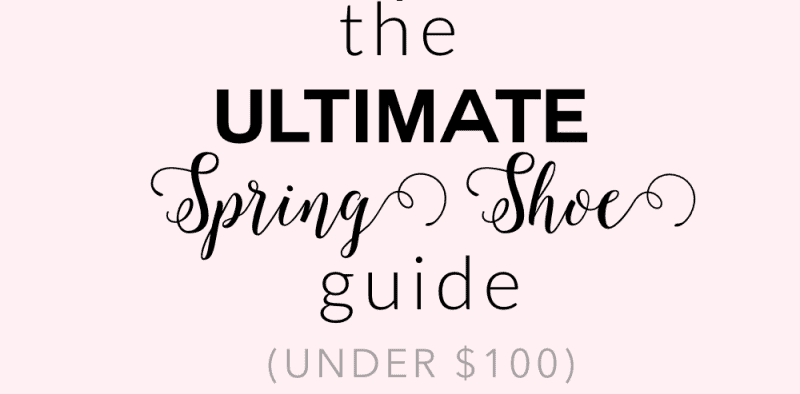 WW: Spring Shoe Guide