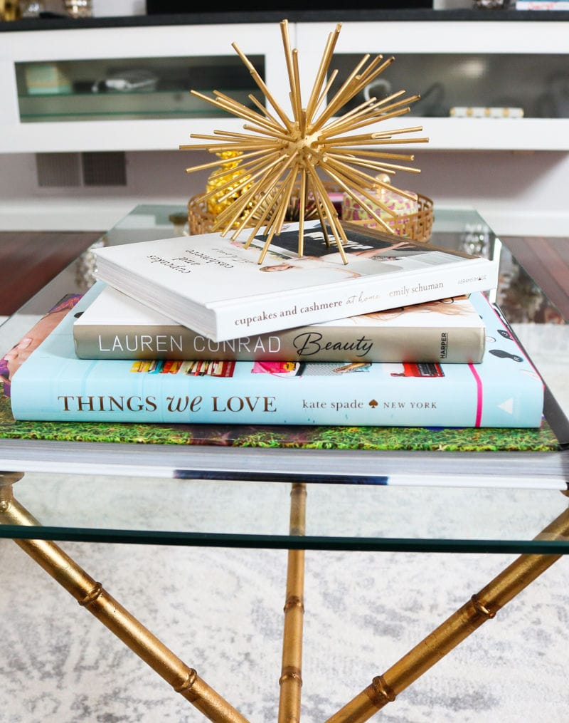 Style Coffee Table How To Style A Coffee Table Simply Sabrina