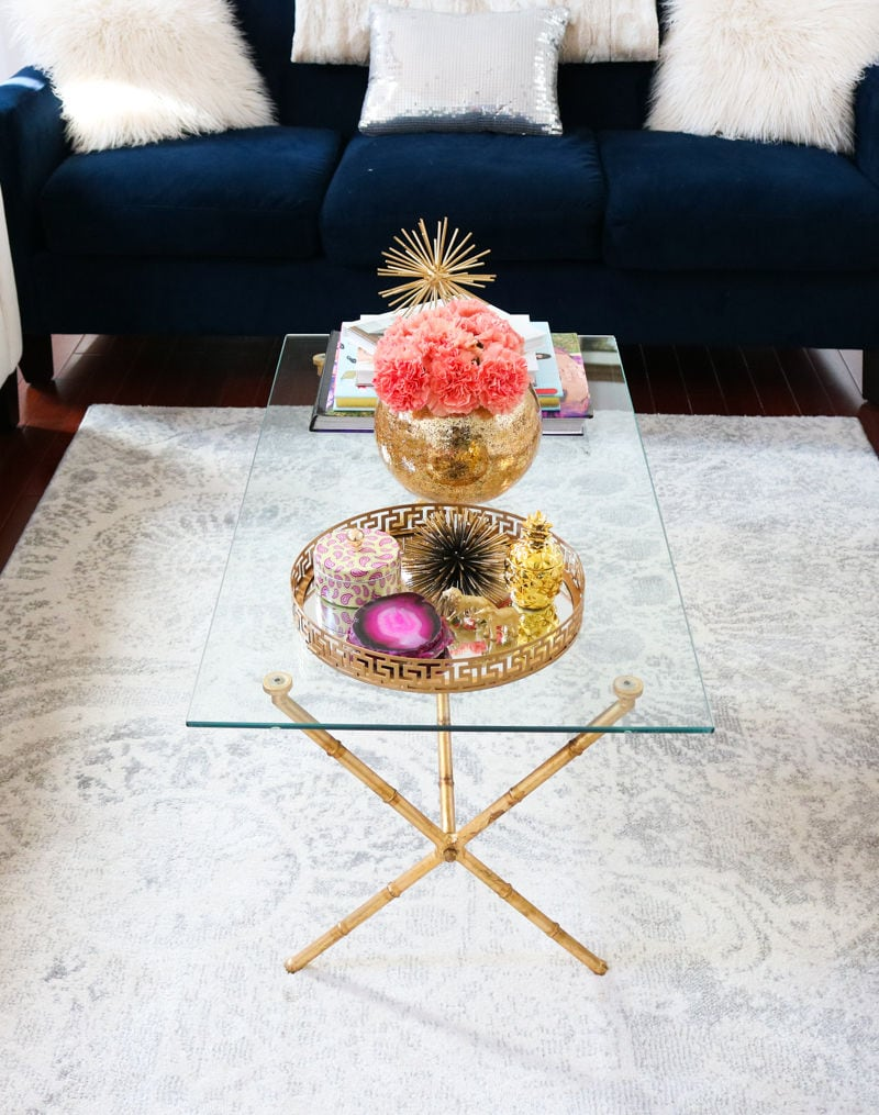 How To Style A Coffee Table how to style a coffee table | simply sabrina