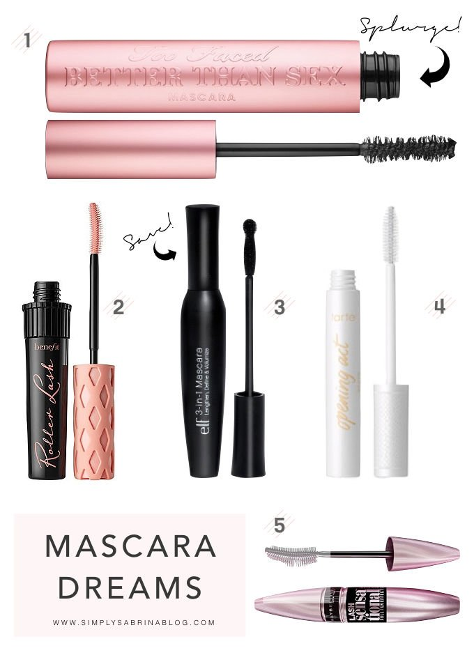 WW: THE BEST MASCARA AT EVERY PRICE POINT