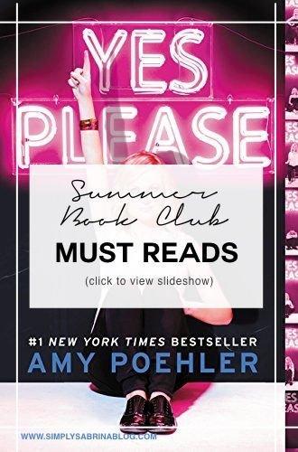SUMMER BOOK CLUB MUST READS