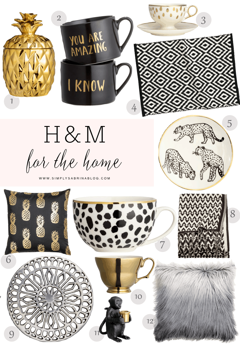 WW: H&M FALL 2016 HOME COLLECTION