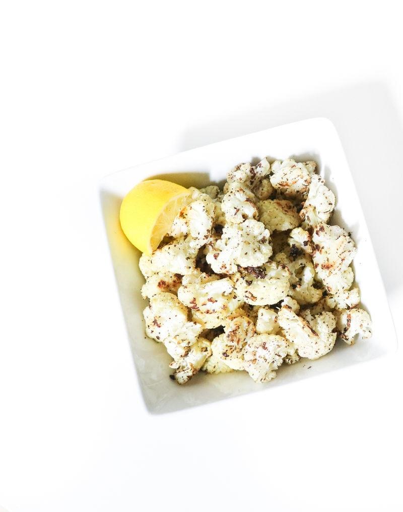Roasted Cauliflower Snack