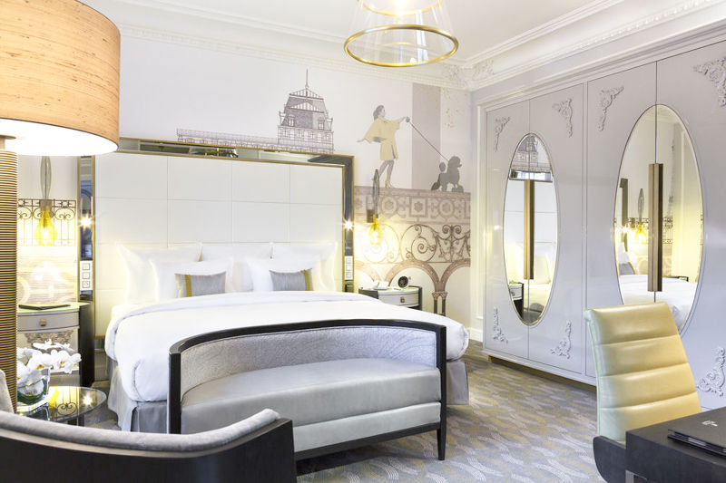 master suite in paris hotel