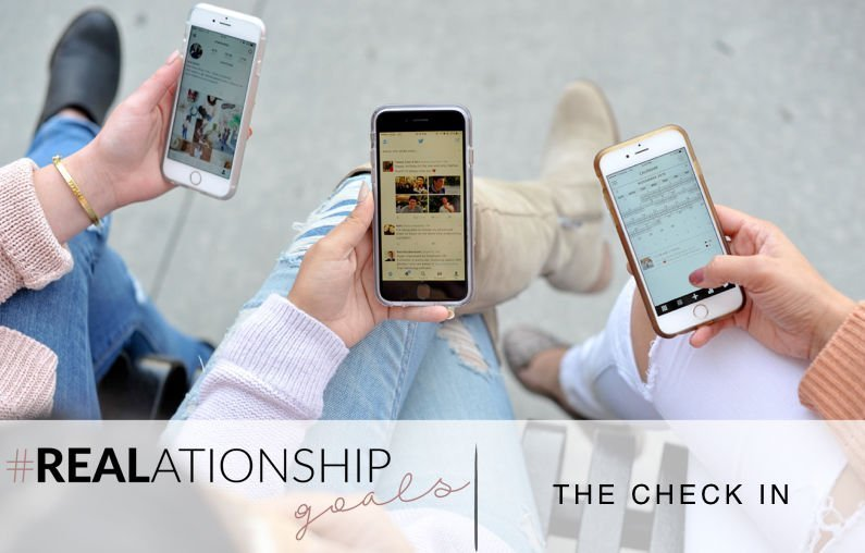 #REALATIONSHIP GOALS | THE CHECK IN