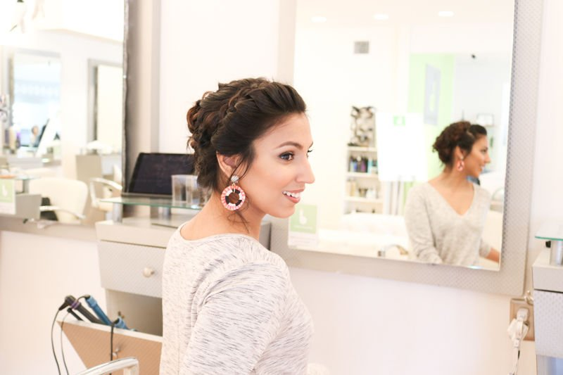 BRAIDED UPDO BLOW DRY BAR
