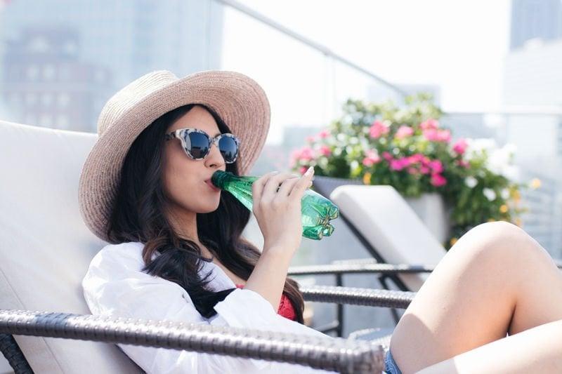 rooftop relaxing