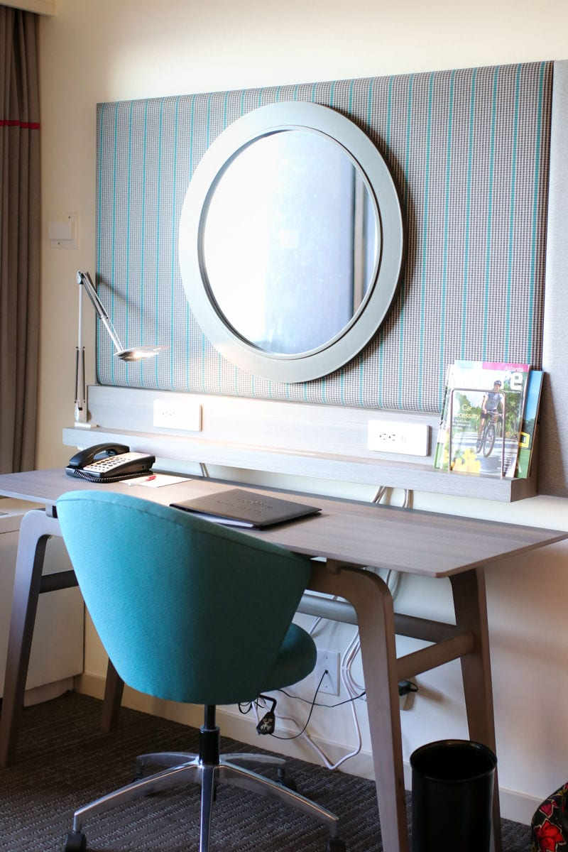study desk in atlanta hotel