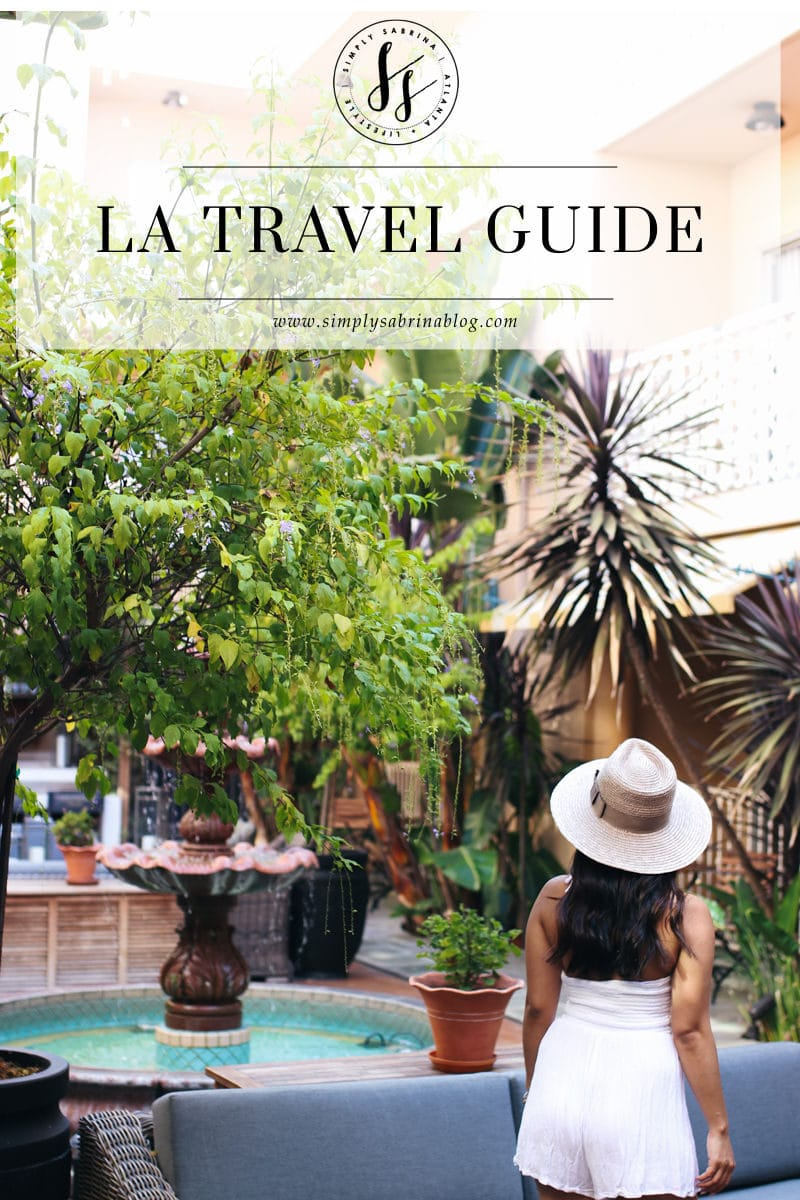 LA TRAVEL GUIDE