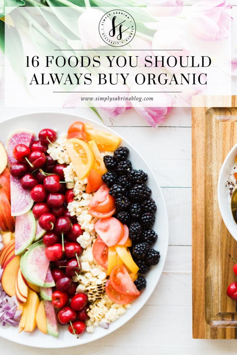 Food That You Must Buy Organic