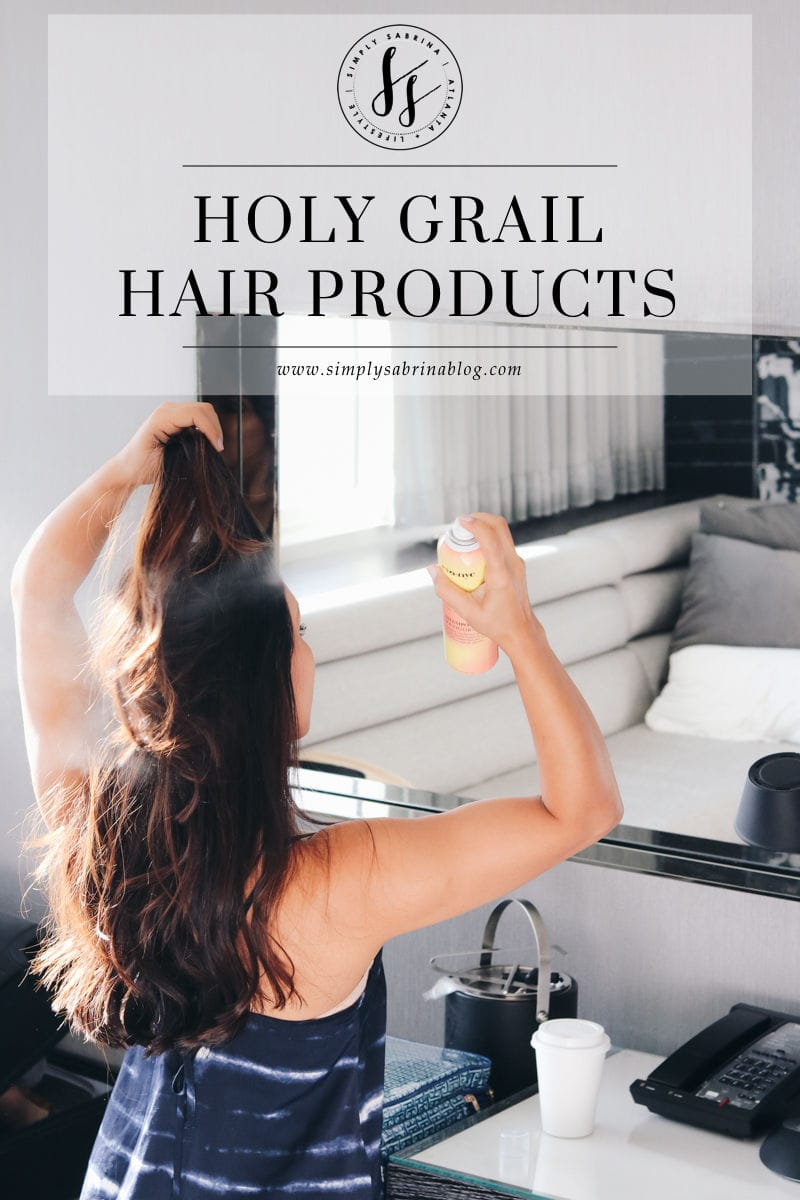 4 HOLY GRAIL HAIR PRODUCTS
