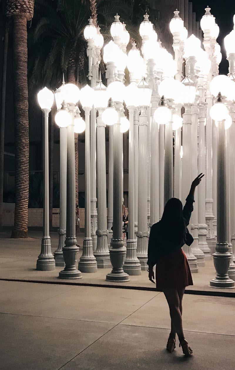 photo spot lights in L.A