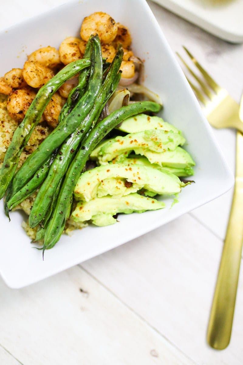 Weekday Recipe: Chipotle Shrimp Quinoa