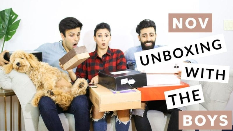 UNBOXING WITH THE BOYS