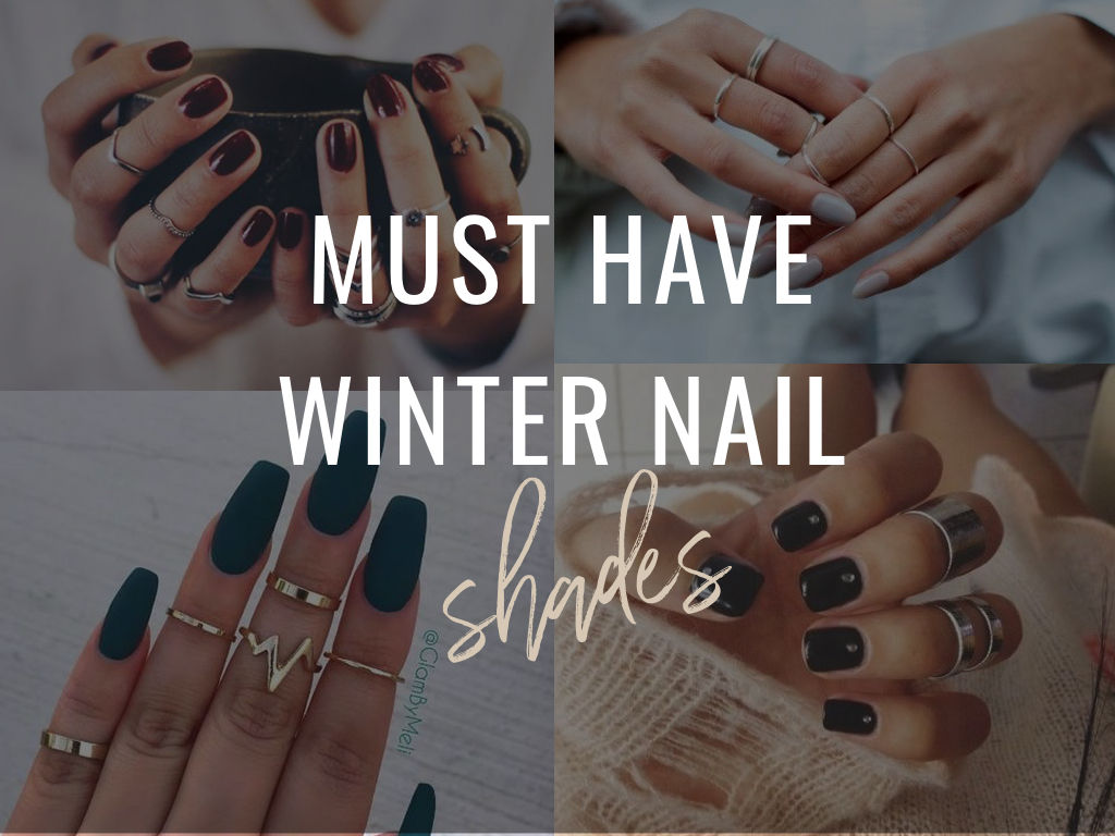4 Winter Nail Colors That Are IT Girl Approved   Simply Sabrina