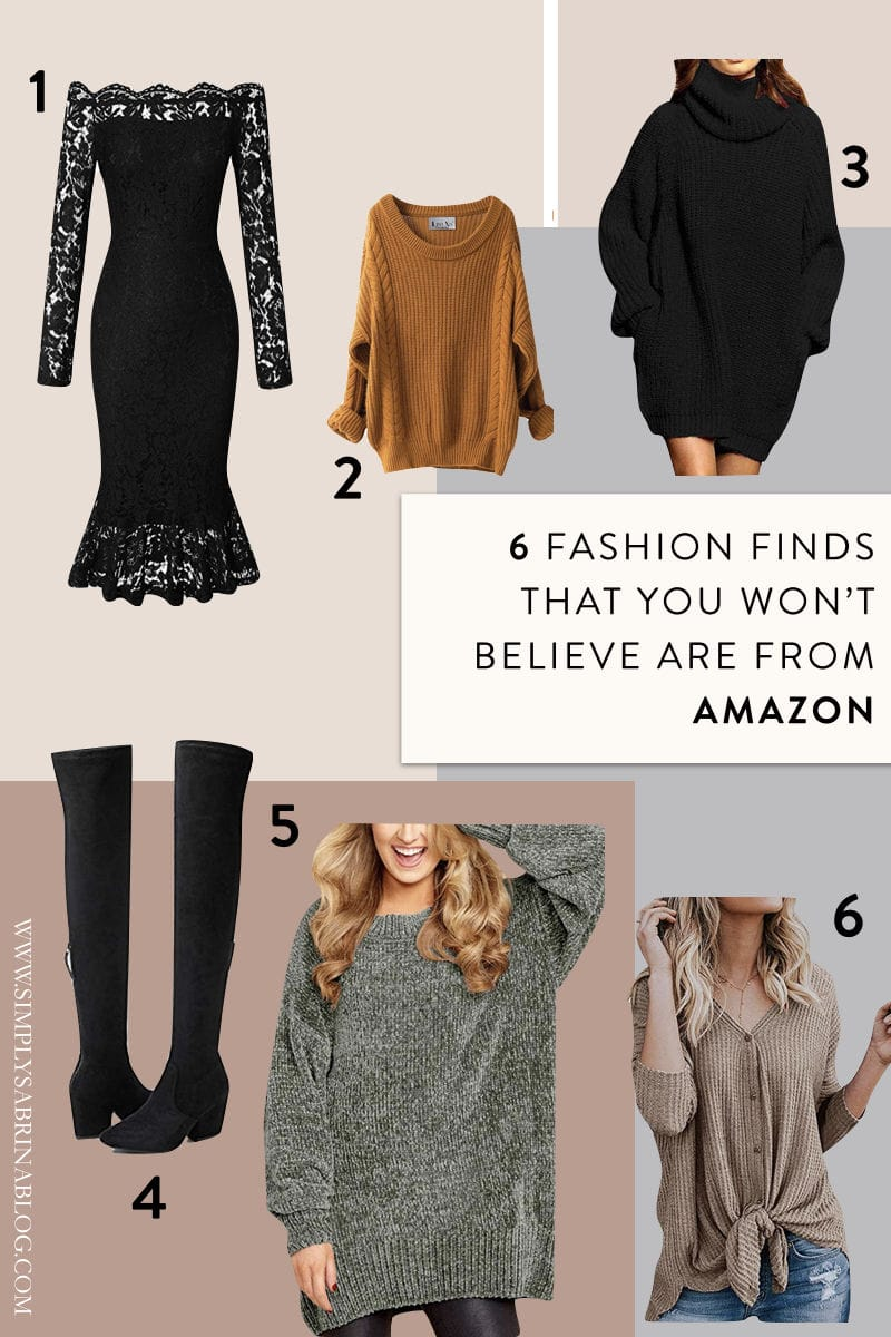 abe82a97682 Amazon Fashion Finds You Won t Believe Are Under  50