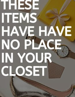 You Need To Get Rid Of These Items Immediately