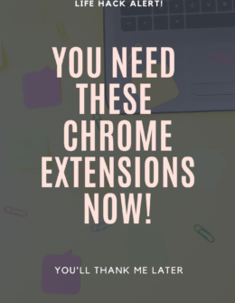 Chrome Extensions You Need