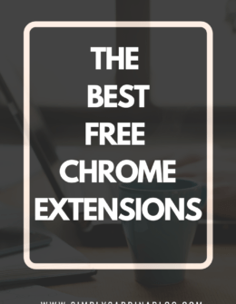 Free Google Chrome Extensions