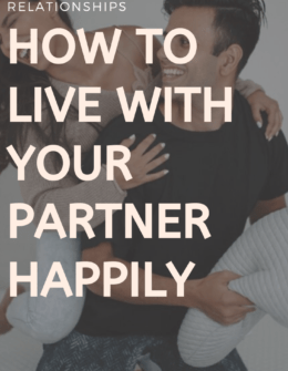 Advice On Living With Your Partner