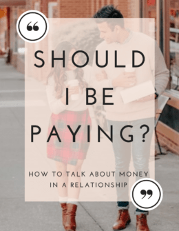 Talking About Money In a Relationship