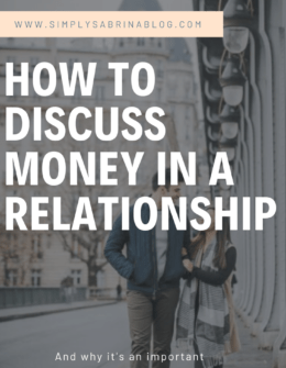 How To Have The Money Talk In A Relationship