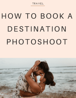 How To Book A Photoshoot On Vacation