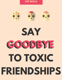 Say No To Toxic Friends
