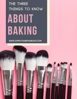 What to know about makeup baking