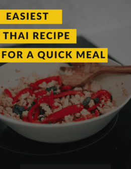 Quick Gai Pad Krapow Recipe: Thai Basil Chicken