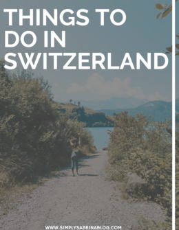 Places to See in Switzerland