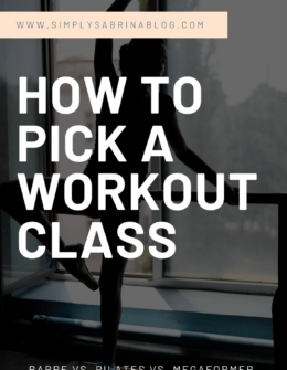 How to Pick a Workout Class
