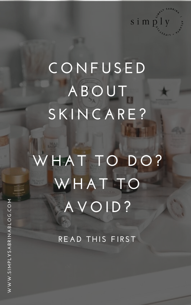 skincare 101 for beginners
