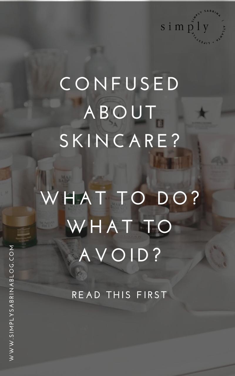 skincare 101 for beginners