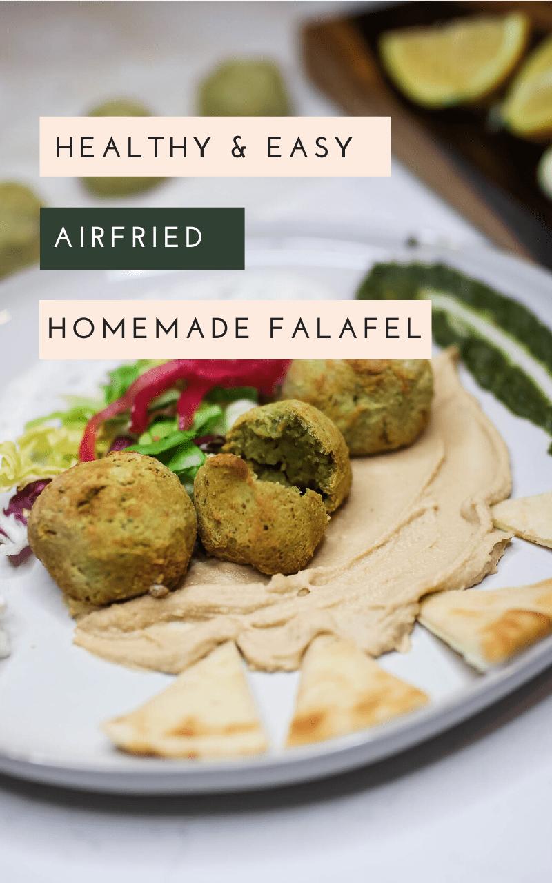 Air-fried-Falafel